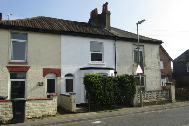 Thumbnail Terraced house to rent in Grove Road, Gosport
