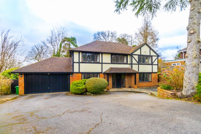 Thumbnail Detached house for sale in Shalbourne Rise, Camberley, Surrey