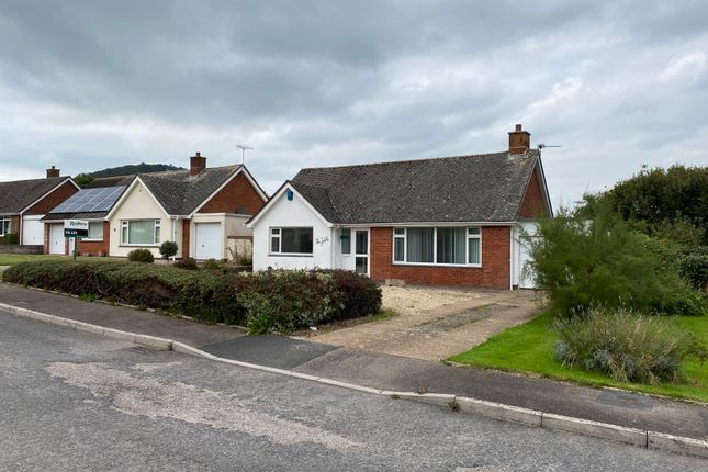 Thumbnail Detached bungalow to rent in Sid Vale Close, Sidmouth