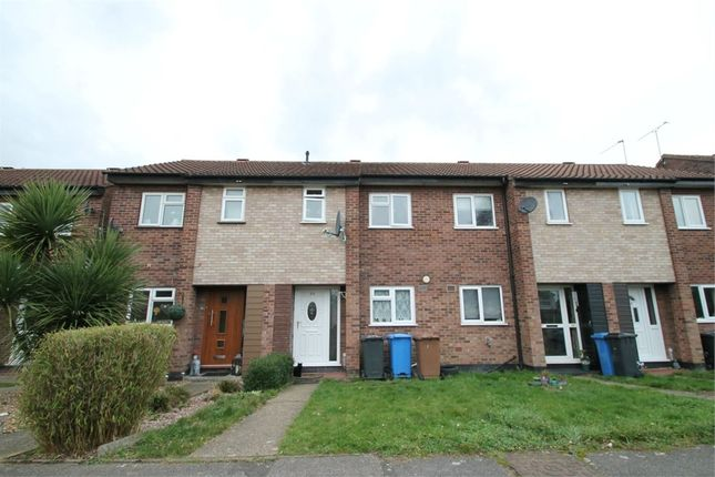 Thumbnail Terraced house for sale in Rushbury Close, Ipswich, Suffolk