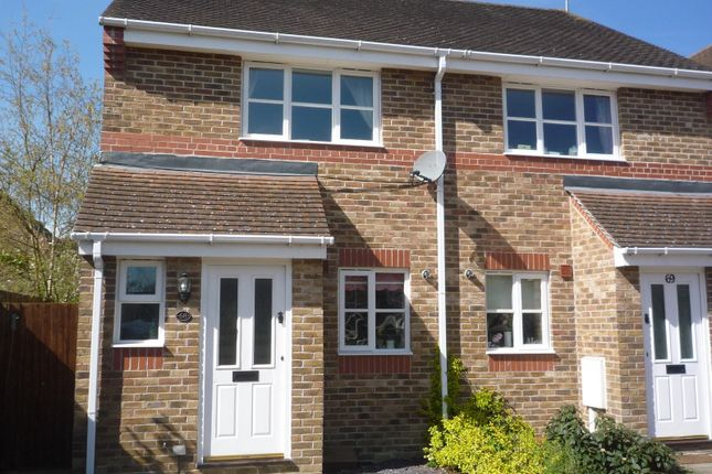 Thumbnail Semi-detached house to rent in Coulstock Road, Burgess Hill