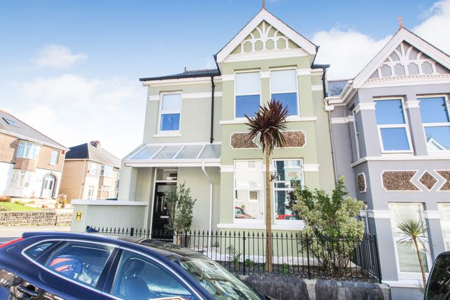 Thumbnail End terrace house for sale in Wembury Park Road, Peverell, Plymouth