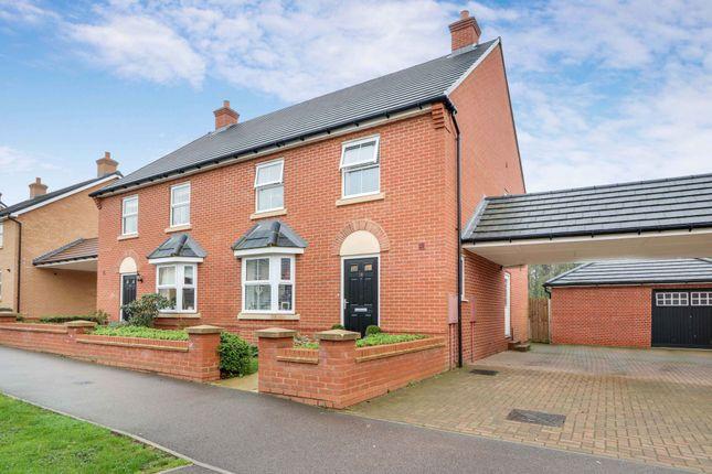 Thumbnail Semi-detached house for sale in Kingston Road, Benfleet, Essex
