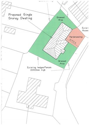 Thumbnail Land for sale in Garth Cottages, Knottingley