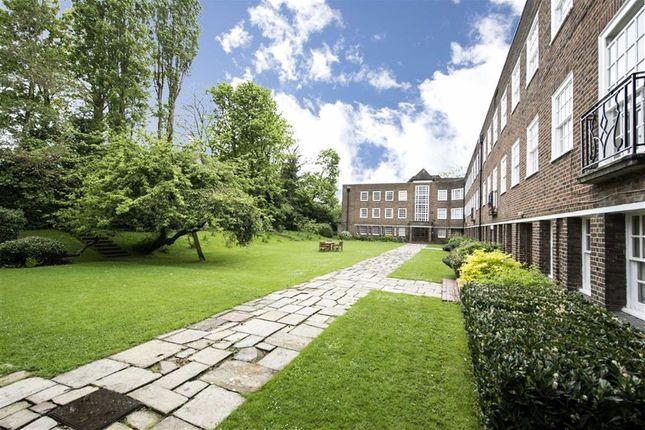 Exterior of Corringham Court, Hampstead Garden Suburb NW11