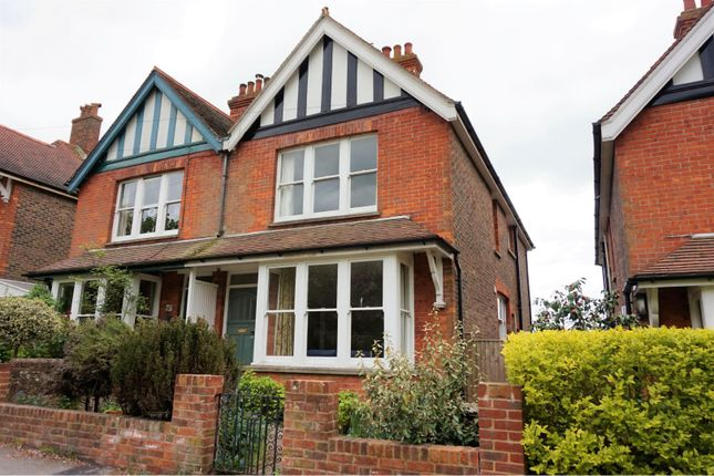 Thumbnail Semi-detached house for sale in Prince Edwards Road, Lewes