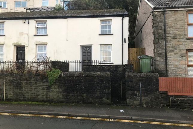 1 bed semi-detached house to rent in Rickards Street, Pontypridd CF37