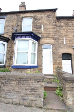 Thumbnail Terraced house to rent in Ecclesall Road, Sheffield