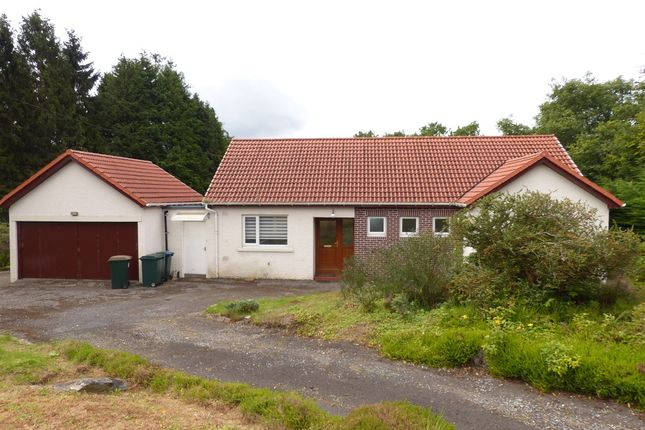 Thumbnail Detached bungalow for sale in Lettoch Road, Pitlochry
