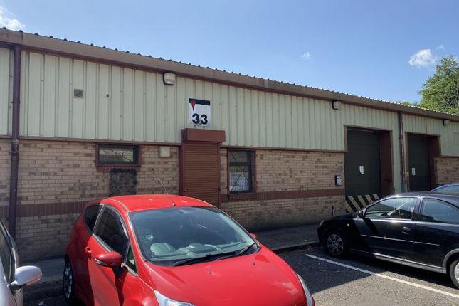 Industrial to let in Unit 33 Aberaman Park Industrial Estate, Aberdare