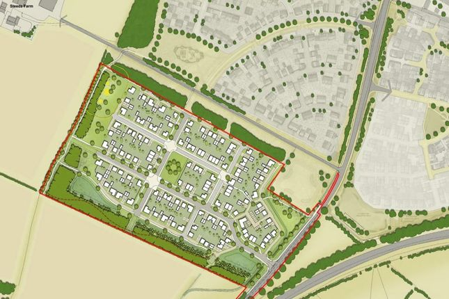 Thumbnail Land for sale in Land South Of The Steeds, Coxwell Road, Faringdon