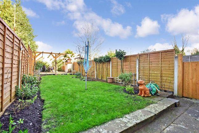 Rear Garden of Fant Lane, Maidstone, Kent ME16
