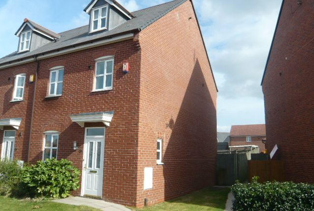Thumbnail Town house to rent in Wychwood Village, Weston, Crewe, Cheshire