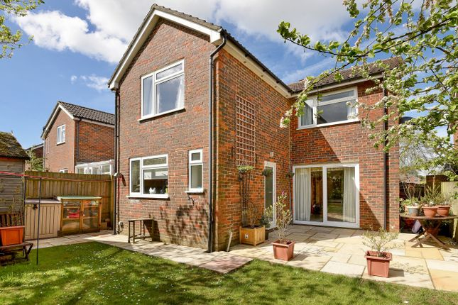 Thumbnail Detached house for sale in Cedar Drive, Kingsclere, Newbury, Hampshire
