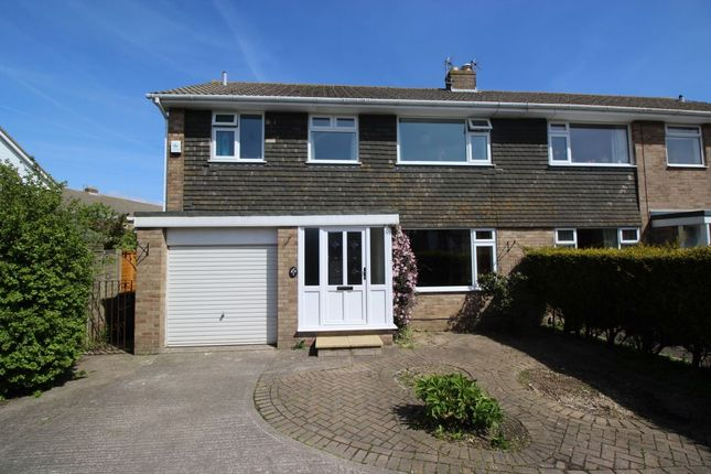 Thumbnail Semi-detached house to rent in Southern Way, Clevedon