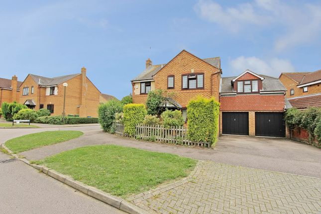 Thumbnail Detached house for sale in Holst Crescent, Old Farm Park