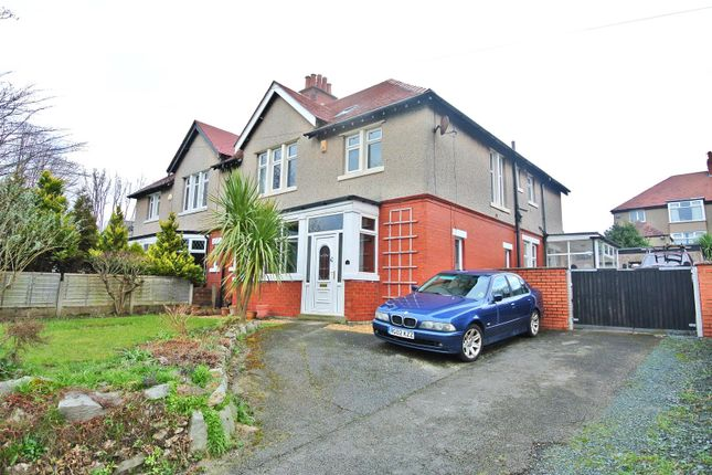 Thumbnail Semi-detached house for sale in St. Johns Road, Heysham, Morecambe