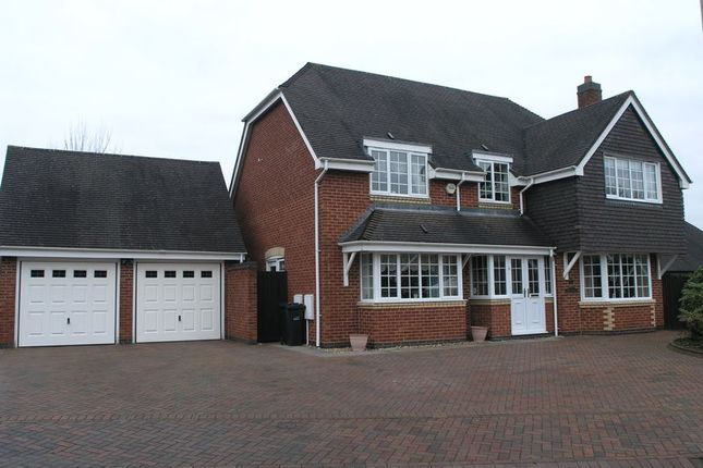 Thumbnail Detached house for sale in Hodgetts Drive, Halesowen