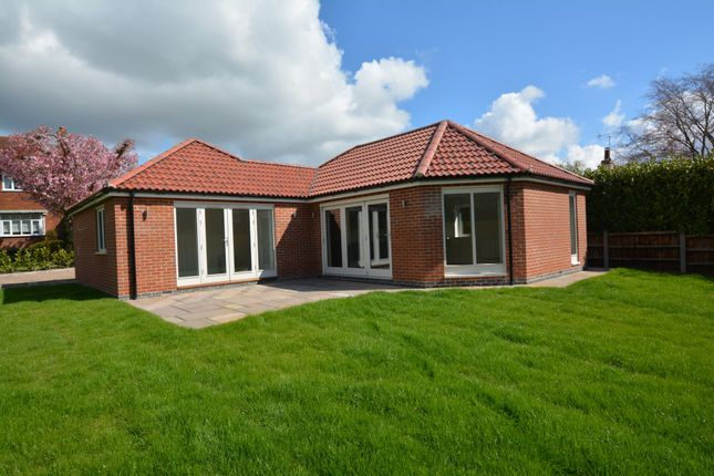 Thumbnail Detached bungalow for sale in Nottingham Road, Southwell
