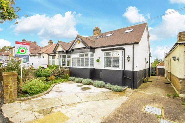 Thumbnail Semi-detached bungalow for sale in Seymour Road, London