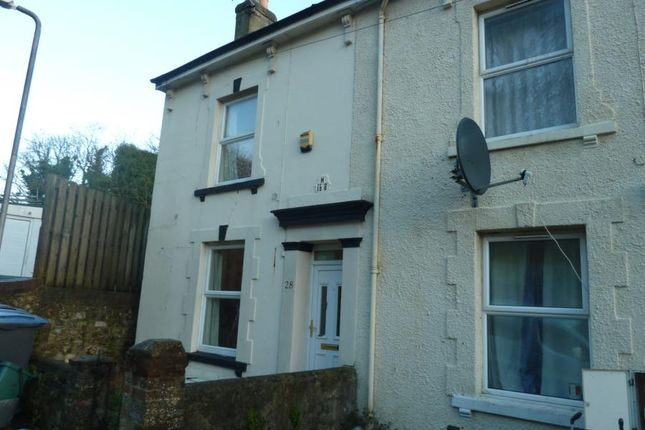 Thumbnail Town house to rent in De Burgh Hill, Dover