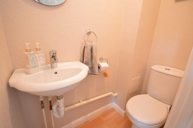 Cloakroom of Drake Road, Chessington, Surrey. KT9