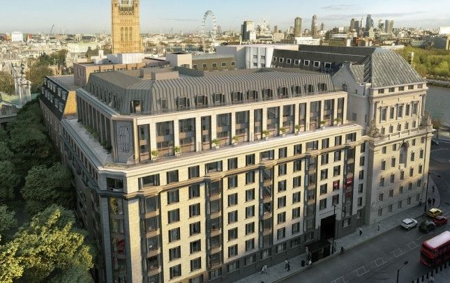 Thumbnail Flat for sale in 9 Millbank, London