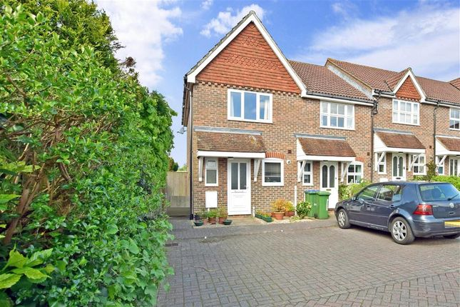 Thumbnail End terrace house for sale in Lyntons, Pulborough, West Sussex