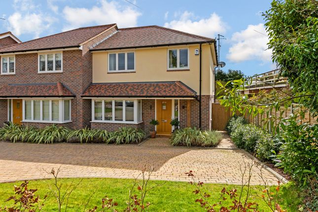 Thumbnail Semi-detached house for sale in St. Albans Road, Codicote, Hertfordshire