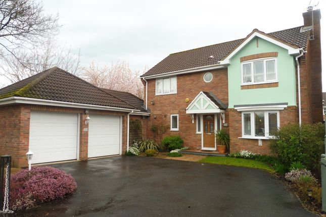 Thumbnail Detached house for sale in The Meadows, Marshfield, Cardiff