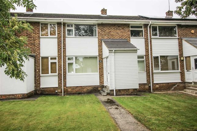 Thumbnail Terraced house to rent in Thornley Avenue, Cramlington