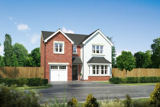 """Thumbnail Detached house for sale in """"Hampsfield"""" at Palladian Gardens, Hooton Road, Hooton, Wirral"""