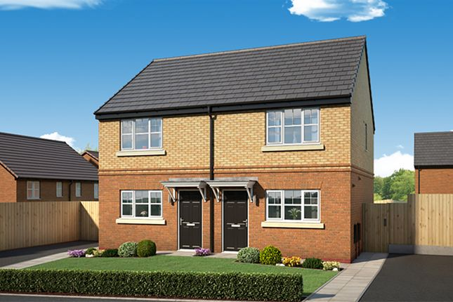 "Thumbnail Property for sale in ""The Haxby"" at Newbury Road, Skelmersdale"