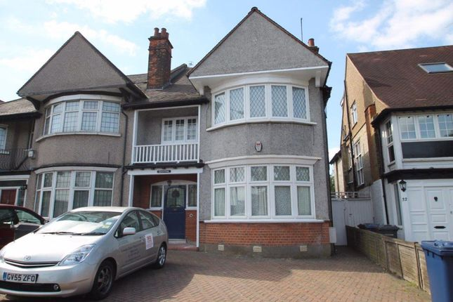 Thumbnail Semi-detached house to rent in East End Road, London