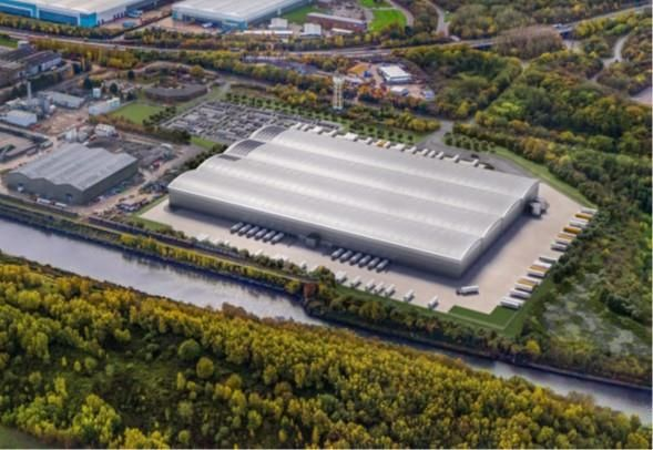 Thumbnail Light industrial to let in Link Logistics Park, North Road, Ellesmere Port, Cheshire