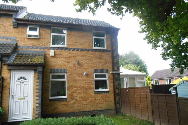 Thumbnail Town house to rent in Silverburn Drive, Oakwood, Derby
