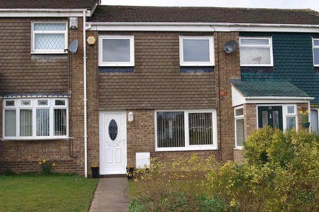 Thumbnail Terraced house for sale in Newlyn Drive, Cramlington