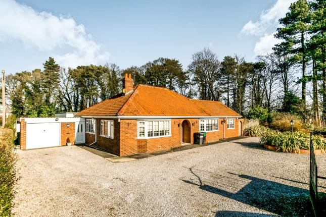 Thumbnail Bungalow for sale in Wheldrake Lane, Crockey Hill, York, North Yorkshire