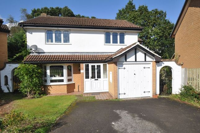 Thumbnail Detached house for sale in Petrel Croft, Basingstoke