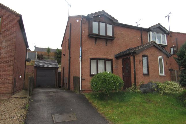Thumbnail Semi-detached house to rent in Little Hollies, Forest Town, Nottinghamshire
