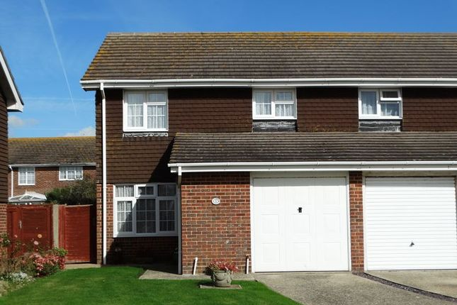 Thumbnail Semi-detached house for sale in The Horseshoe, Selsey, Chichester