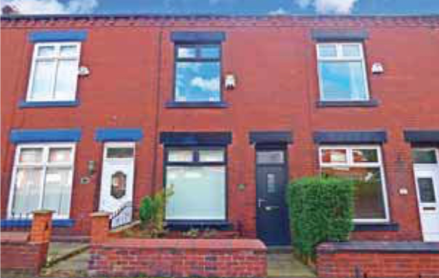Thumbnail Terraced house to rent in Middleton Road, Chadderton