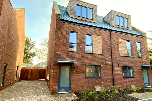 Thumbnail Semi-detached house for sale in Plot 7, Perne Close, Perne Road, Cambridge