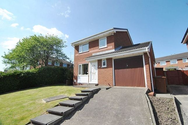 Thumbnail Detached house for sale in Savick Way, Lea, Preston