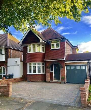Thumbnail Detached house for sale in Miall Road, Hall Green, Birmingham