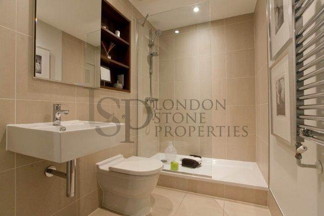 Bathroom of Number One Street, Royal Arsenal, London SE18