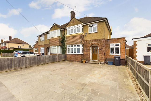 Thumbnail Semi-detached house for sale in Benedict Drive, Feltham, Greater London