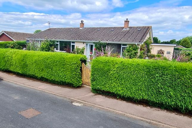 Thumbnail Bungalow for sale in Traherne Close, Lugwardine, Hereford