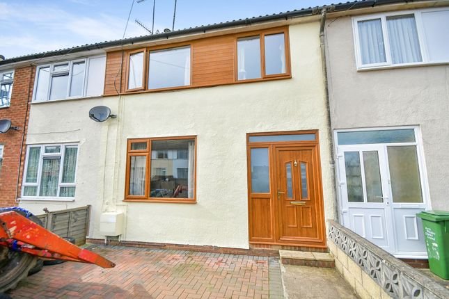 Thumbnail Terraced house for sale in Corfe Crescent, Calne