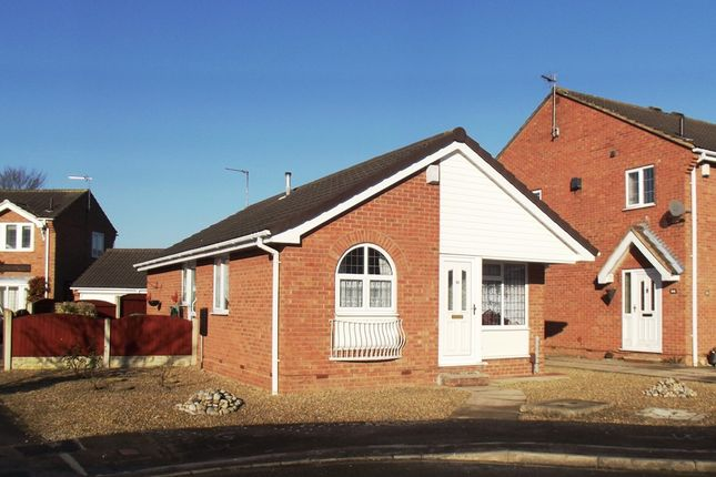 Thumbnail Detached bungalow to rent in Chelkar Way, Rawcliffe, York